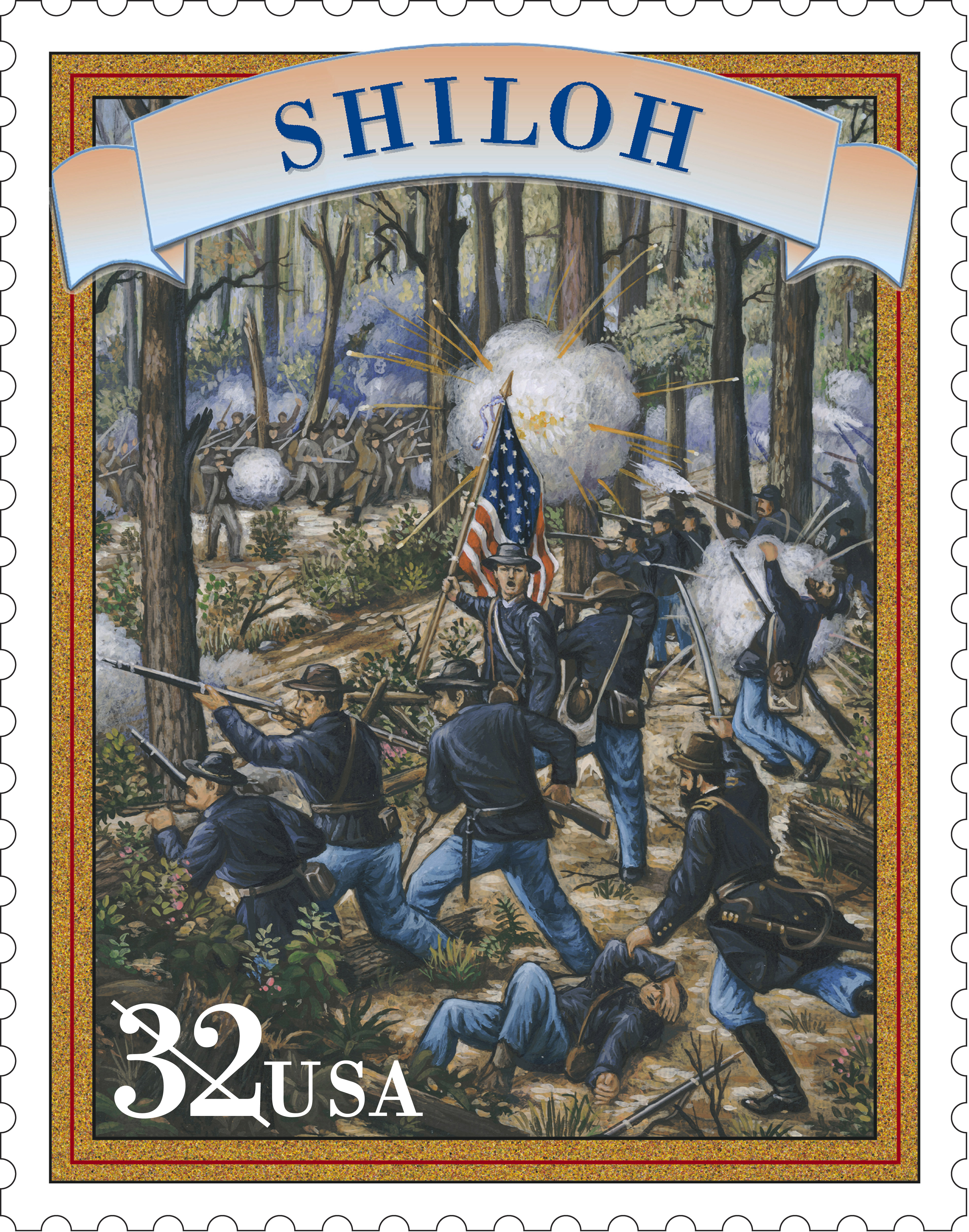 an overview of the infamous battle of shiloh in 1862 The battle of shiloh was a battle in the western theater of the american civil war , fought april 6–7, 1862, in southwestern tennessee  a famous anecdote  encapsulates grant's unflinching attitude to temporary setbacks and his  the  war would continue, at great cost in casualties and resources, until the  confederacy.