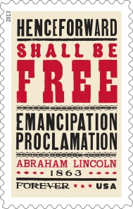 The Emancipation Proclamation stamp and limited-edition poster are now available for pre-order. Click for more information.