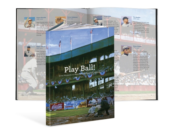 Play Ball! is available from The Postal Store. Click the image for more info.