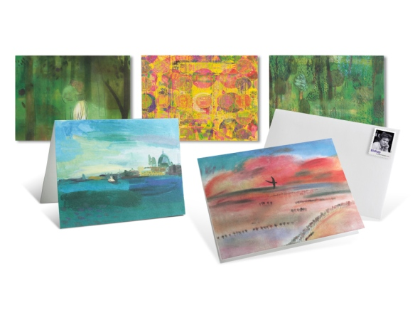 The Twentieth-Century Poets note card set is available from The Postal Store. Click image for more info.
