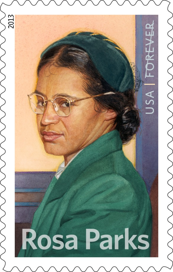 Rosa Parks's name and image used under license with the Rosa and Raymond Parks Institute for Self-Development.
