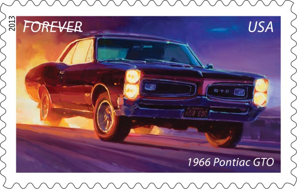 General Motors Chevelle and Pontiac Trademarks used under license to the USPS.