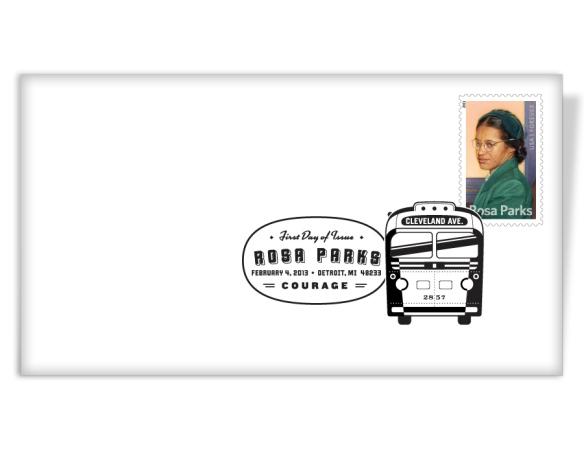 Rosa Parks Postmark