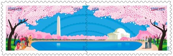 Cherry Blossom Centennial with perfs