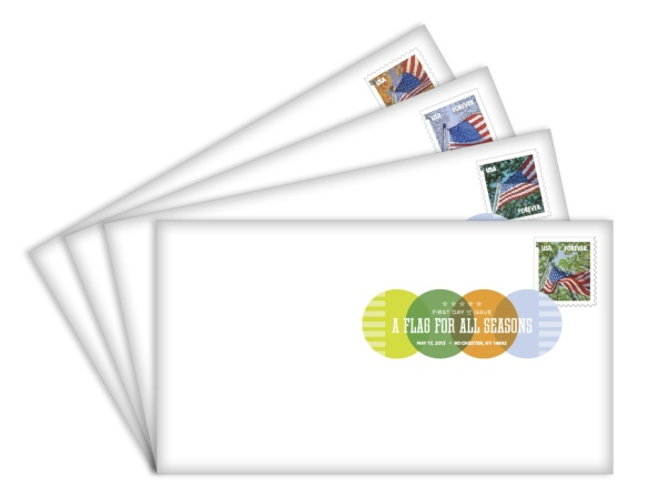 Digital Color Postmarks